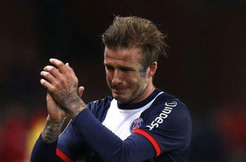Article : Mon histoire d'amour avec David Beckham