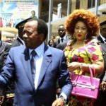 Paul Biya en visite officielle en compagnie de son épouse