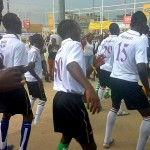 jeunes sportifs lors des jeux universitaires. crédit photo: Ecclésiaste DEUDJUI