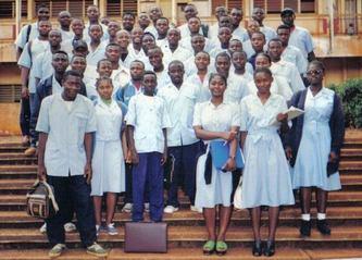 élèves de terminale C au lycée classique de Bafoussam. Copyright: Ecclésiaste DEUDJUI