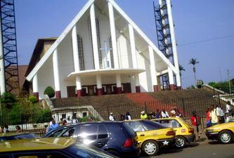 La cathédrale Marie-Gocker à Yaoundé, l'une des plus grandes du Cameroun