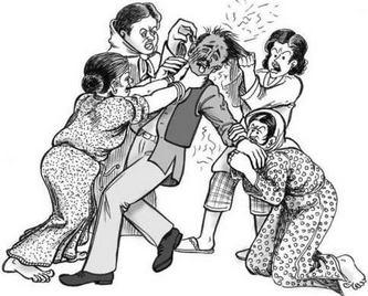 Parfois les épouses se retournent contre leur mari