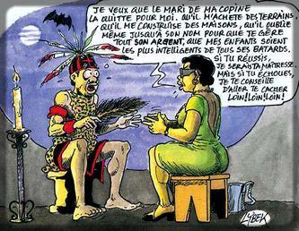beaucoup de Camerounaises font confiance aux marabouts