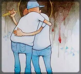 ce sont parfois nos proches qui nous poignardent dans le dos