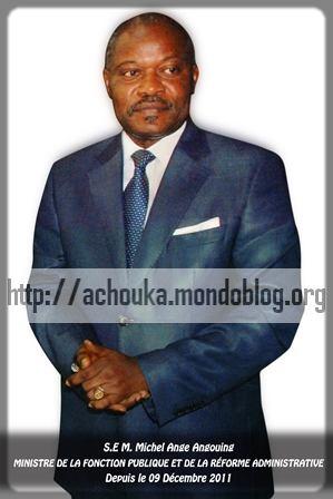 Michel Ange Angouing, ministre de la fonction publique du Cameroun