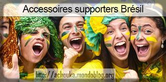 groupe de supporters Brésiliens
