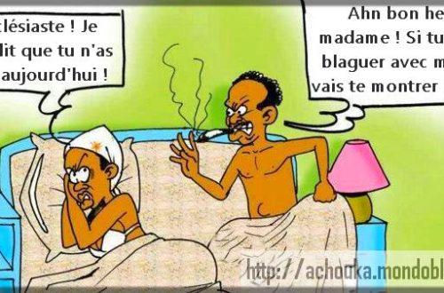 Article : Ne paniquez pas, ce sont les petits mots de Yaoundé