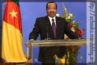 Paul Biya lors du traditionnel discours de fin d'année