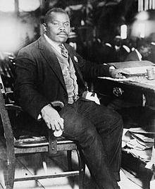 Marcus Garvey est le Jamaïcain qui a créé le mouvement panafricaniste. Crédit: Wikipedia