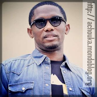 Samuel Eto'o est le héros principal du livre de Nathalie Koah