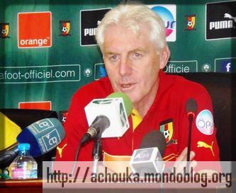 Hugo Broos, actuel sélectionneur des Lions Indomptables