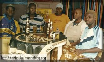 En compagnie de mes amis de Souza, en 2008