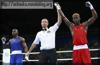 le boxeur Wilfried Seyi était présenté comme notre plus grande chance de médaille