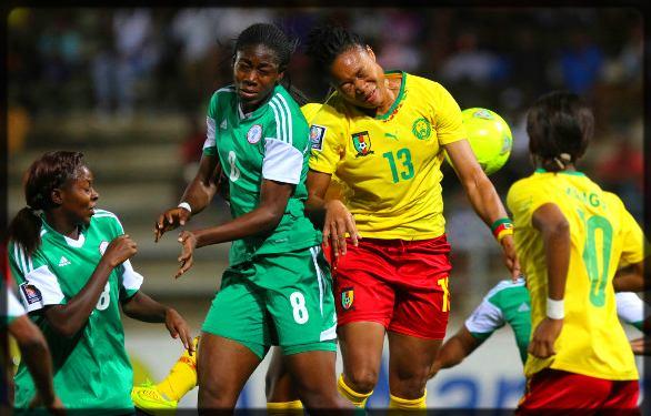 duels de fottballeuses entre le Cameroun et le Nigeria