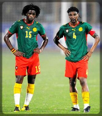 Alexandre et Rigobert Song