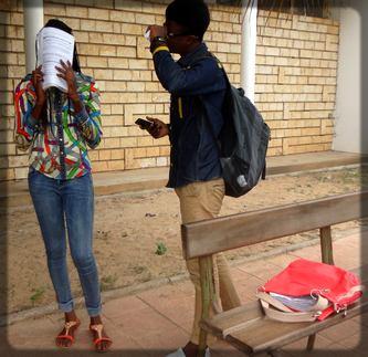 étudiante sénégalaise