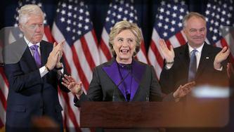 Hillary Clinton en campagne électorale