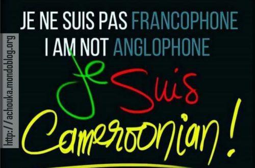 Article : Donc les Anglophones ne sont pas des Camerounais ?