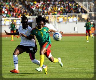 Aboudi Onguéné contre le Ghana en demi-finale