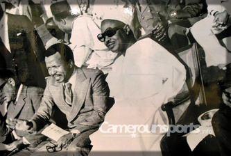 Paul Biya et Ahidjo