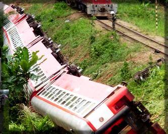 déraillement de train de la Camrail à Eséka