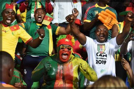 supporters camerounais