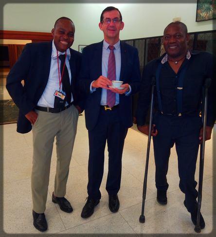 Ecclésiaste Deudjui, Tchakounté Kemayou et Gilles Thibault