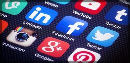 panorama de réseaux sociaux