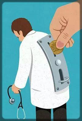 il faut des pièces pour faire travailler un médecin