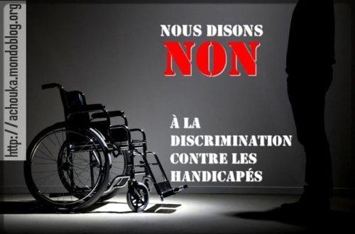 Article : Handicapés camerounais, levez-vous et marchez !
