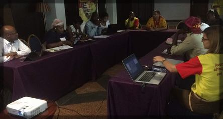 réunion entre les blogueurs camerounais et l'équipe Nestlé