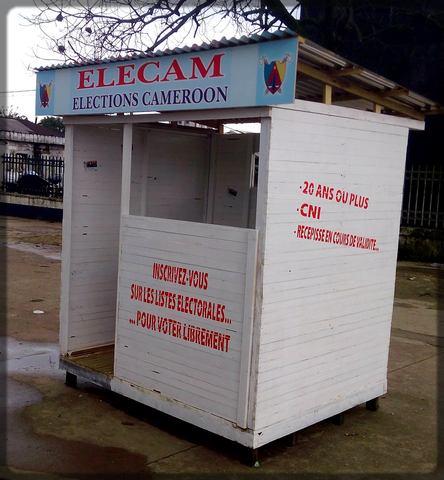 un poste extérieur Elecam