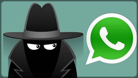un espion sur WhatsApp