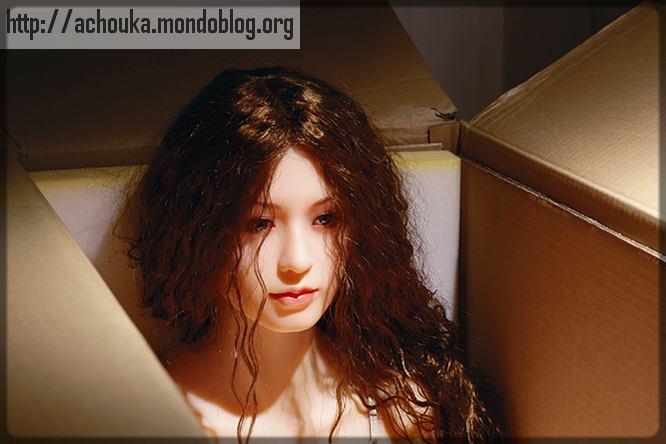 poupée sexuelle dans le carton