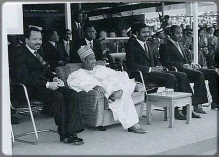 Ahmadou Ahidjo et Paul Biya