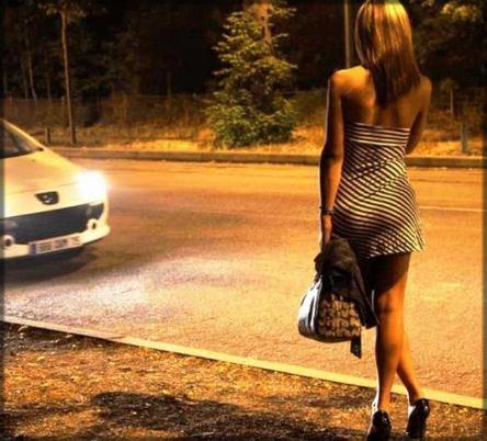 prostituée au bord de la route