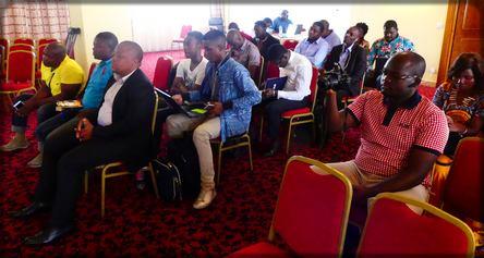 les blogueurs à la réunion de l'ABC