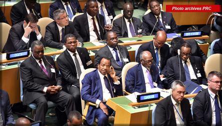 Paul Biya à l'ONU