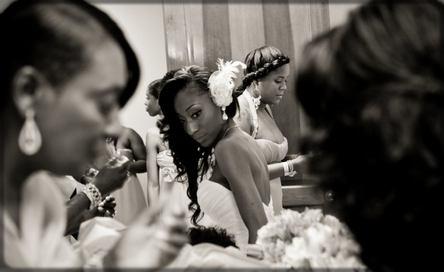 femme le jour du mariage