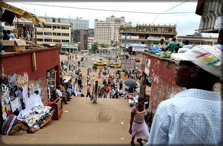 Le marché de Yaoundé