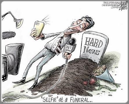 dessin selfie devant un tombeau