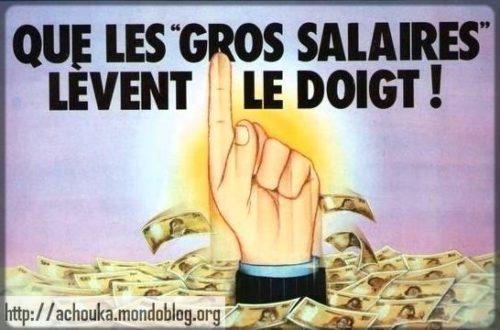 Article : Je touche un gros salaire !