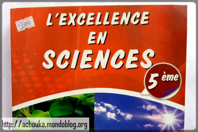 couverture de l'excellence en sciences