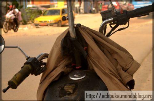 Article : Comment se comporter avec une moto ici à Douala