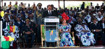 Paul Biya en campagne à Maroua