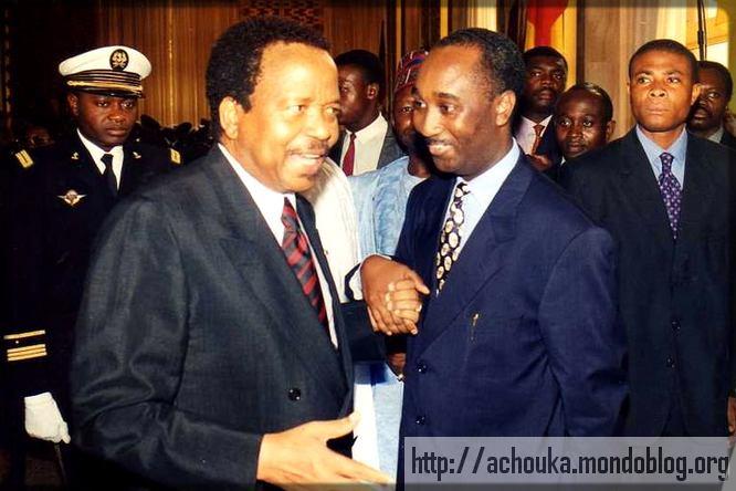 Paul Biya et Bayero Fadil