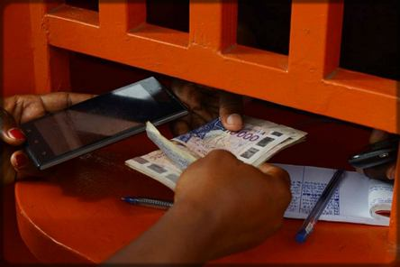 réception d'argent via Orange money