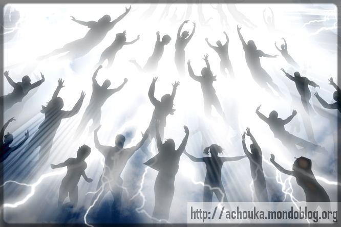 enfants de Dieu qui montent au Ciel