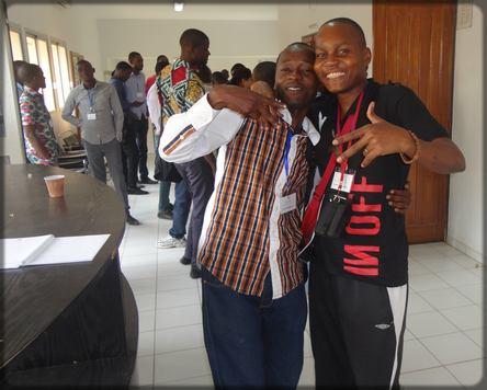 Ecclésiaste Deudjui et Guy Muyembè