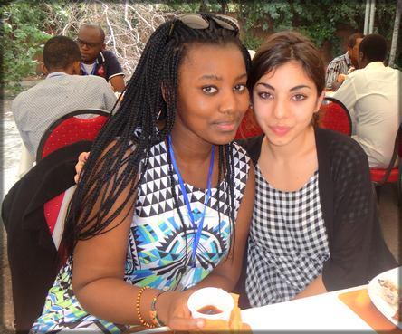 Dieretou Diallo et Manon Mella